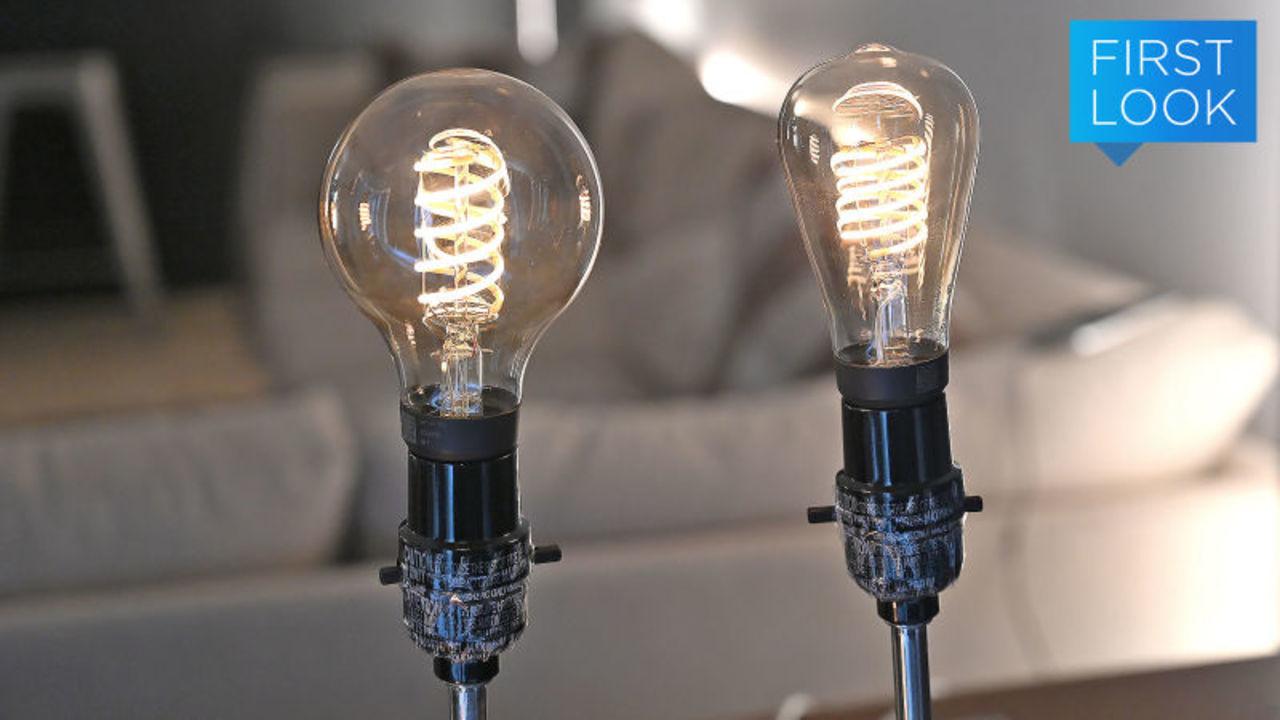 Philips Hueにフィラメント電球デザインが仲間入り!