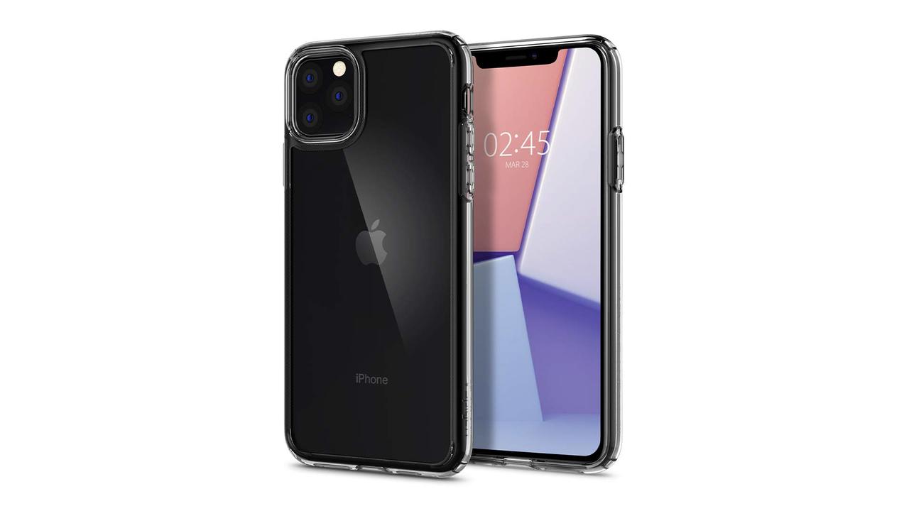 SpigenのiPhone 11用ケースがもう予約開始してる。Appleロゴはやっぱりまんなかだ!