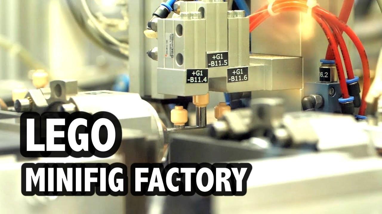 1日ずっと見続けられるやつ。レゴのミニフィグが大量生産される動画