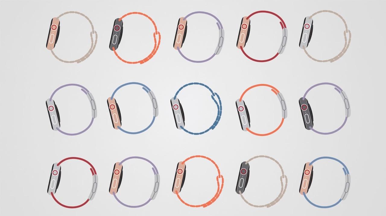 今回のオープニング映像はインフォグラフィックスっぽい #AppleEvent