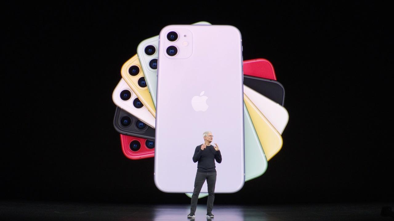 iPhone 11登場! カラフルな6色で7万4800円から #AppleEvent