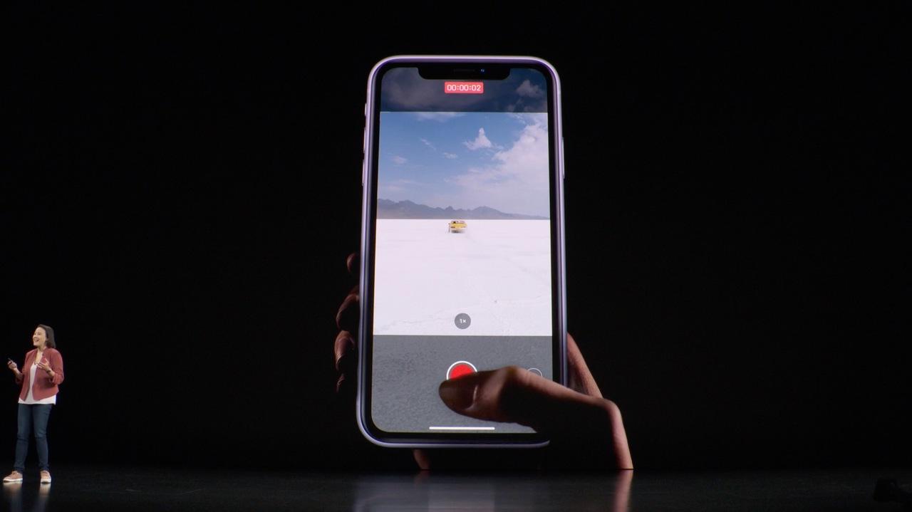 写真モードでも動画撮影ができる「QuickTake」、良い! #AppleEvent