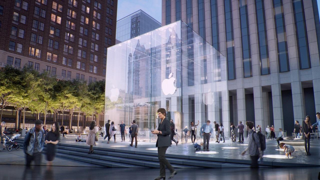 ガラス張りのAppleストア「Apple Fifth Avenue」が改装を終えて再オープン! #AppleEvent