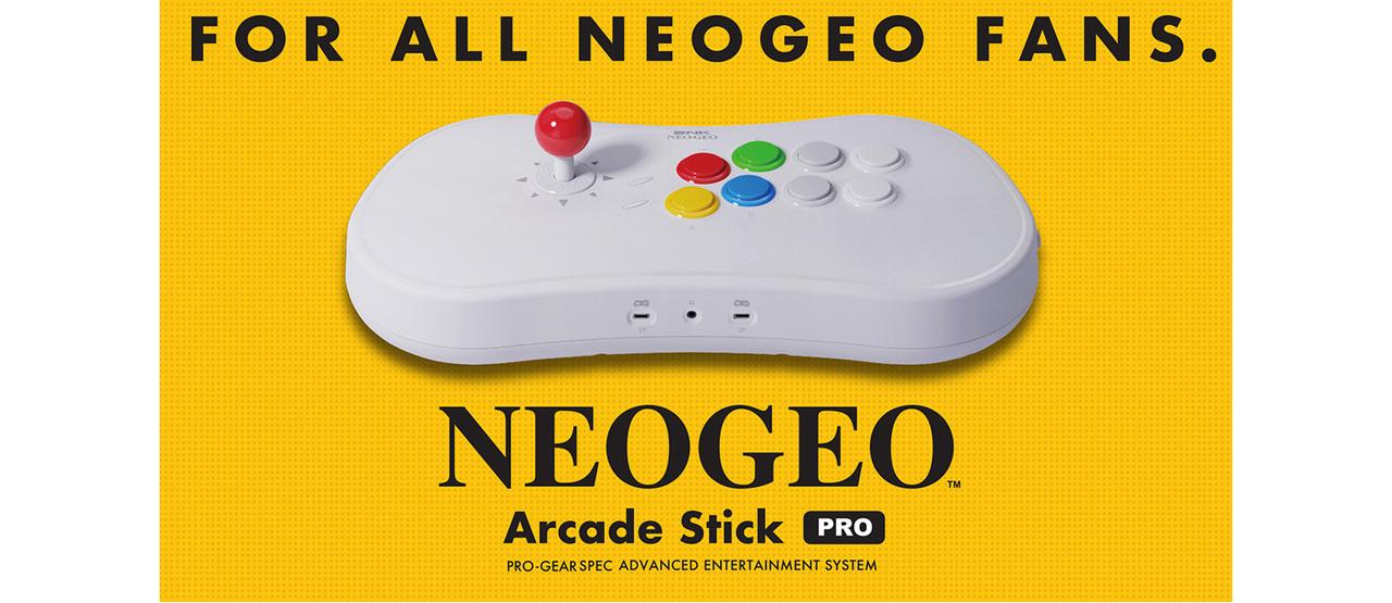 SNKの新ハードは20作入りのコンソール型!「NEOGEO mini」用アケコンにもなるよ