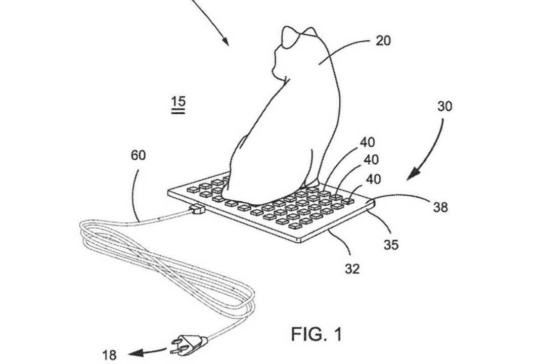 猫まっしぐら。キーボード型の猫用ヒーター、特許出願される
