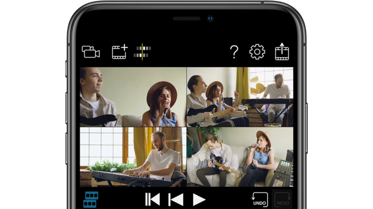 被写体は、みんな。iPhone 4台でマルチアングル撮影できるアプリ「4XCamera Maker」