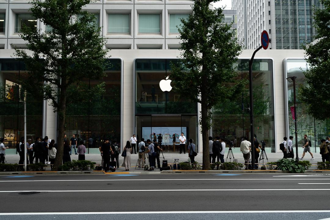 祭り当日。全国のApple Storeは9月20日、8時開店です