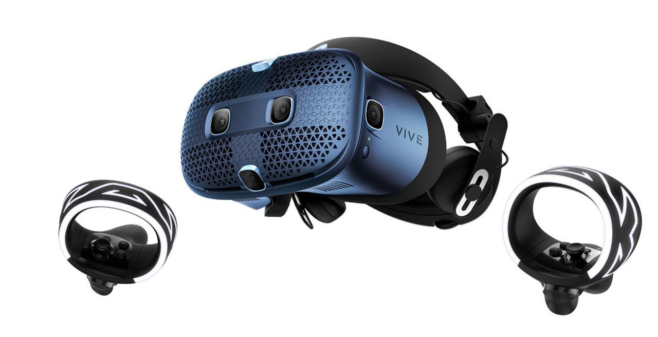 HTC Vive Cosmos発表! PC接続で使うVRゴーグルのニュースタンダード