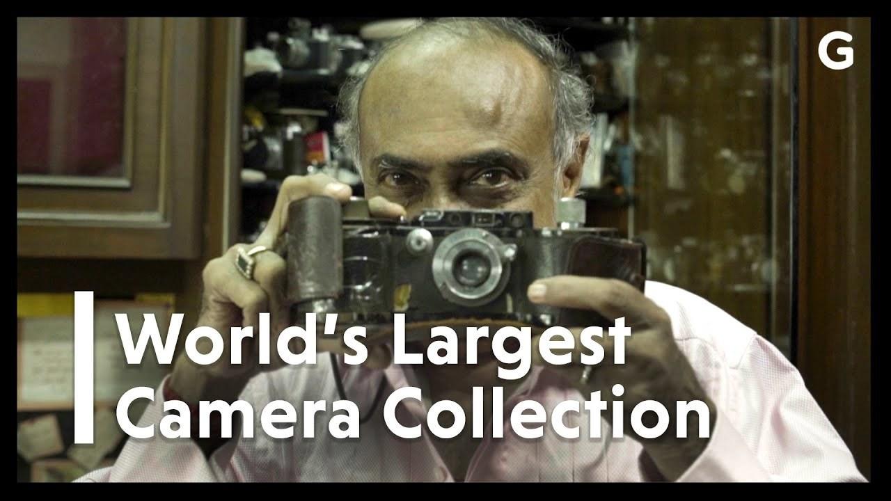 その数4,000台オーバー! 世界最大のカメラコレクターのお宅訪問