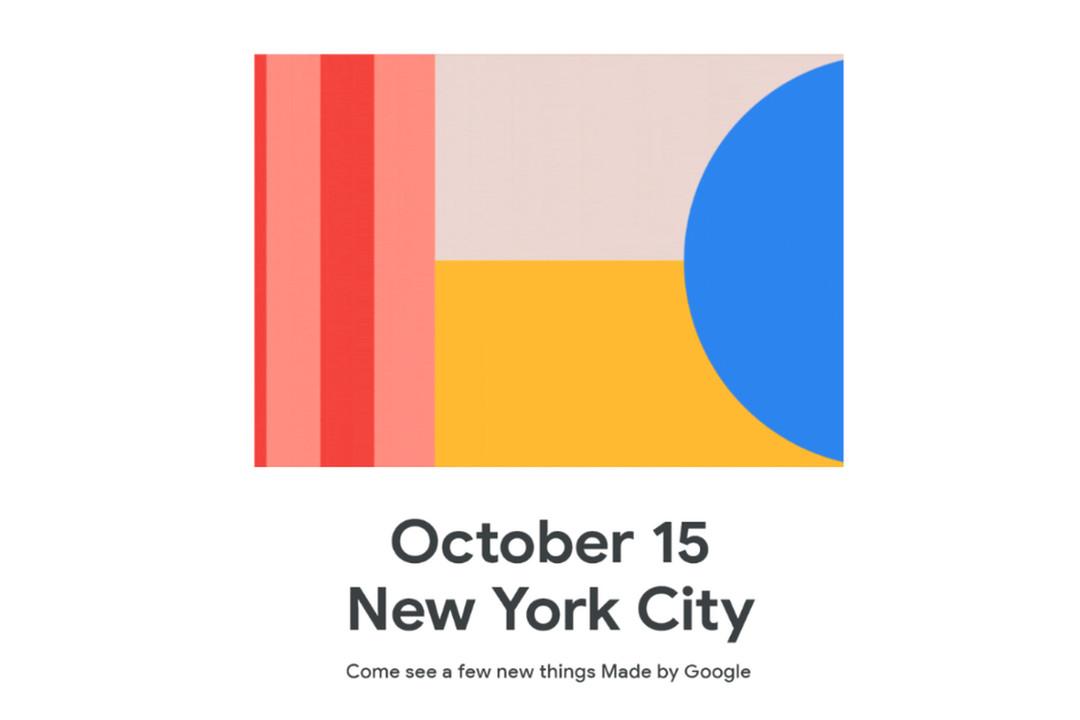 出るかPixel 4!? 今年のGoogleイベントは10月15日開催