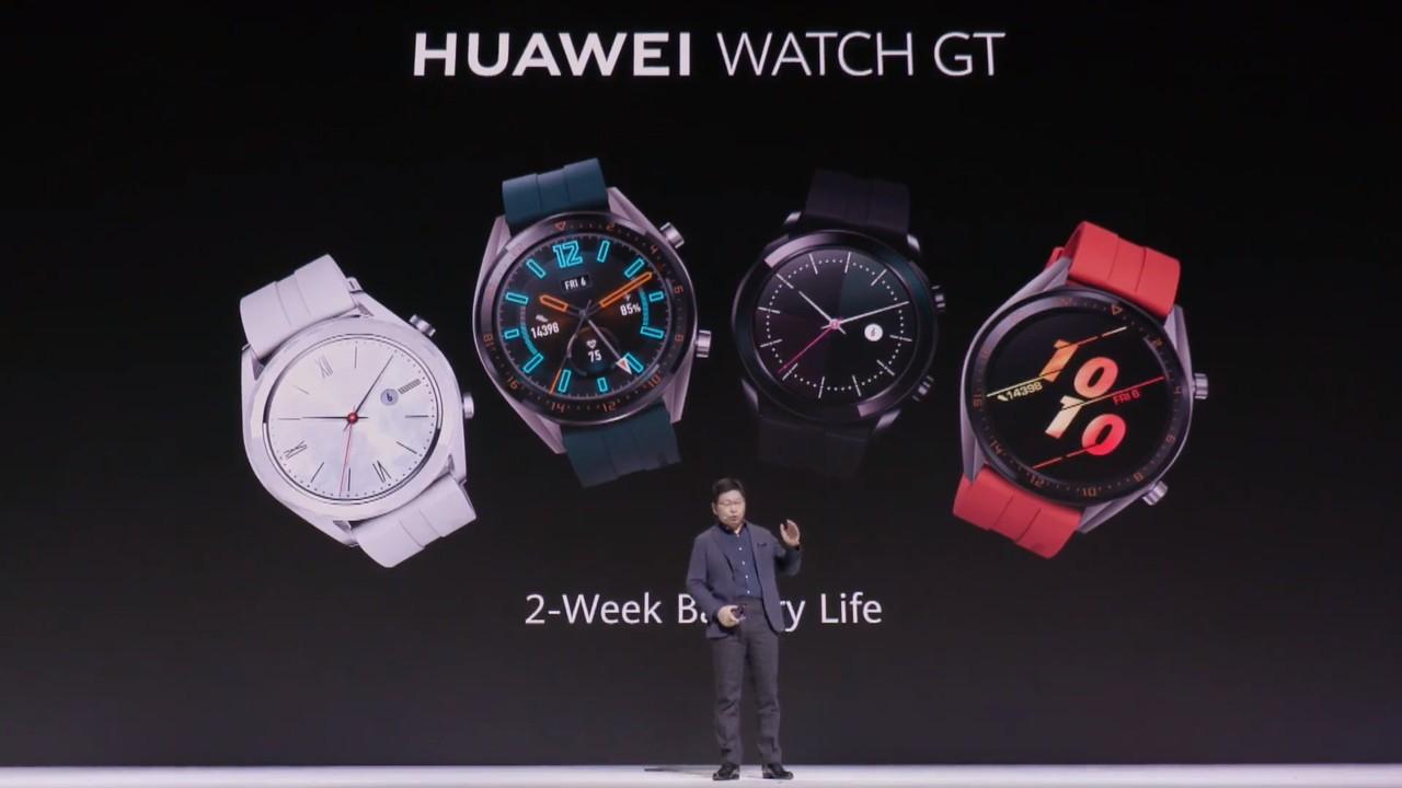 こっちも常時ONディスプレイだ!ファーウェイ、新スマートウォッチ「HUAWEI Watch GT 2」を発表[情報更新]