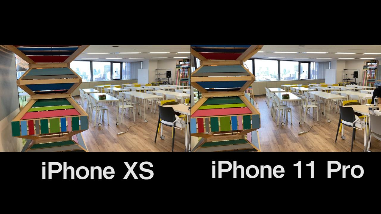 iPhone 11 Proの手ブレ補正、進化してる? iPhone XSと比較してみた
