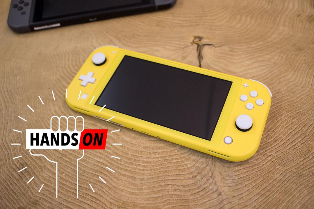 Nintendo Switch Liteハンズオン。「Switch」というギミックへの未練を断ち切る時がきた