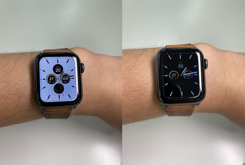 新しいApple Watchの常時点灯ディスプレイ、いろんなウォッチフェイスで試してみました
