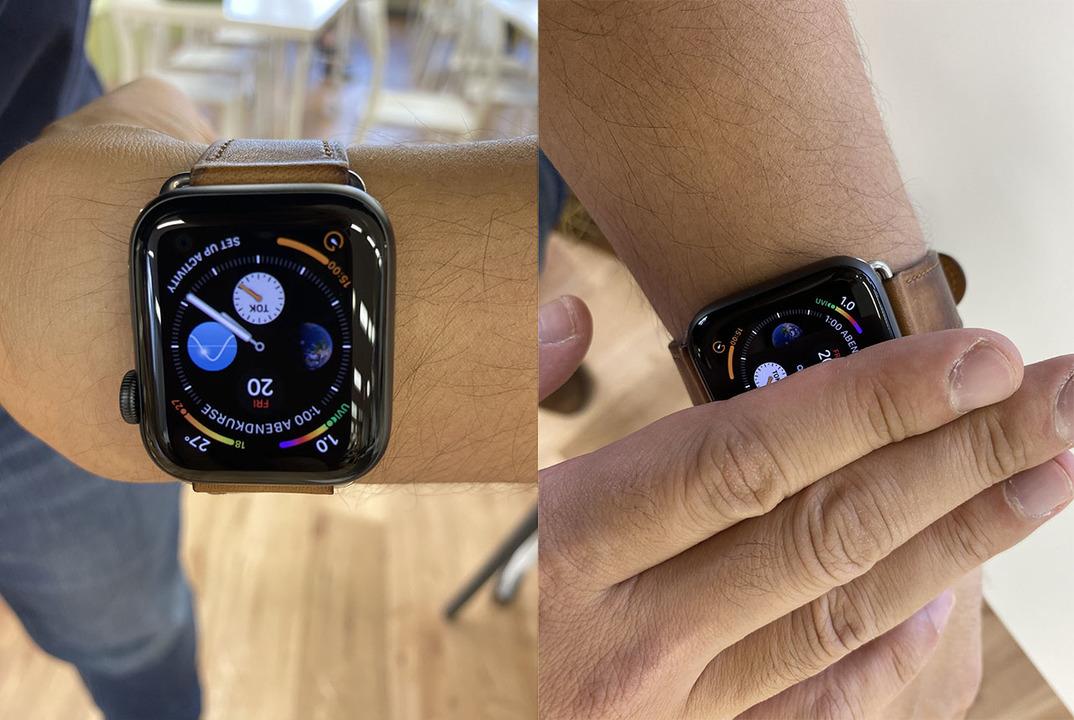 新型Apple WatchのAlways On(アンビエント表示)はこう使う