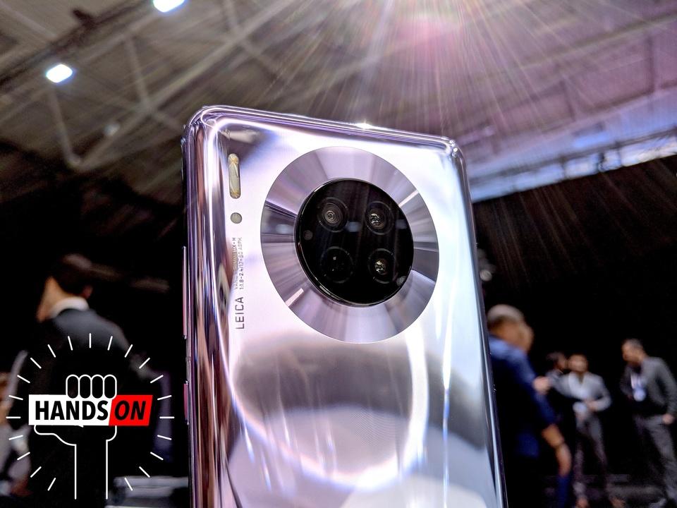【動画追加】Huawei Mate30 Proハンズオン:物理的にベストなスマホ、だけどシンプルな機能にときめいた