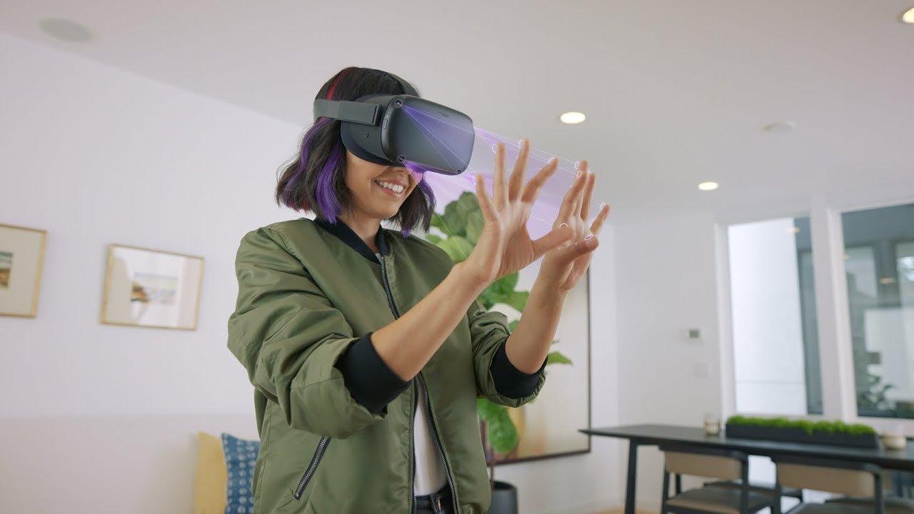 もうVRは素手でOK! ハンド・トラッキングができるOculus Questのアップデートを発表