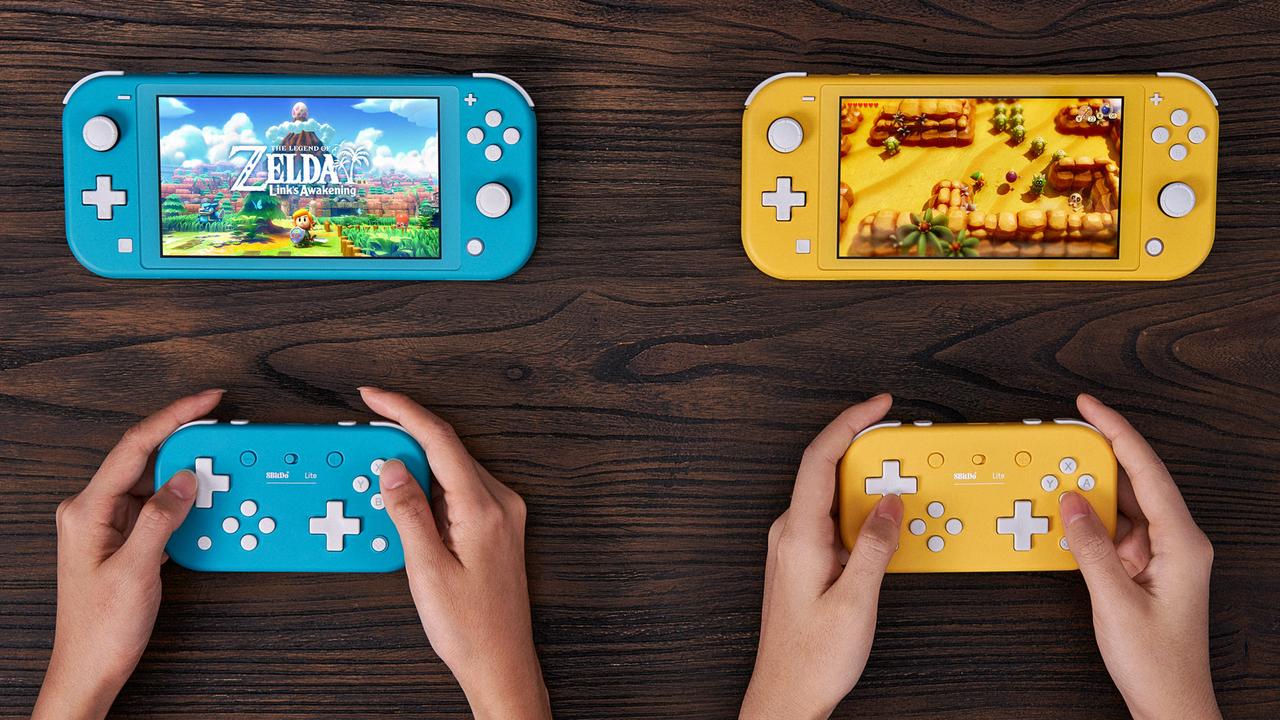 Nintendo Switch Lite用の手持ちコントローラーが早くも登場