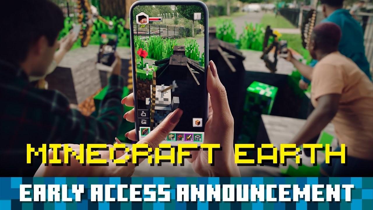 AR版マイクラ『Minecraft Earth』、10月から国ごとに順次リリース!