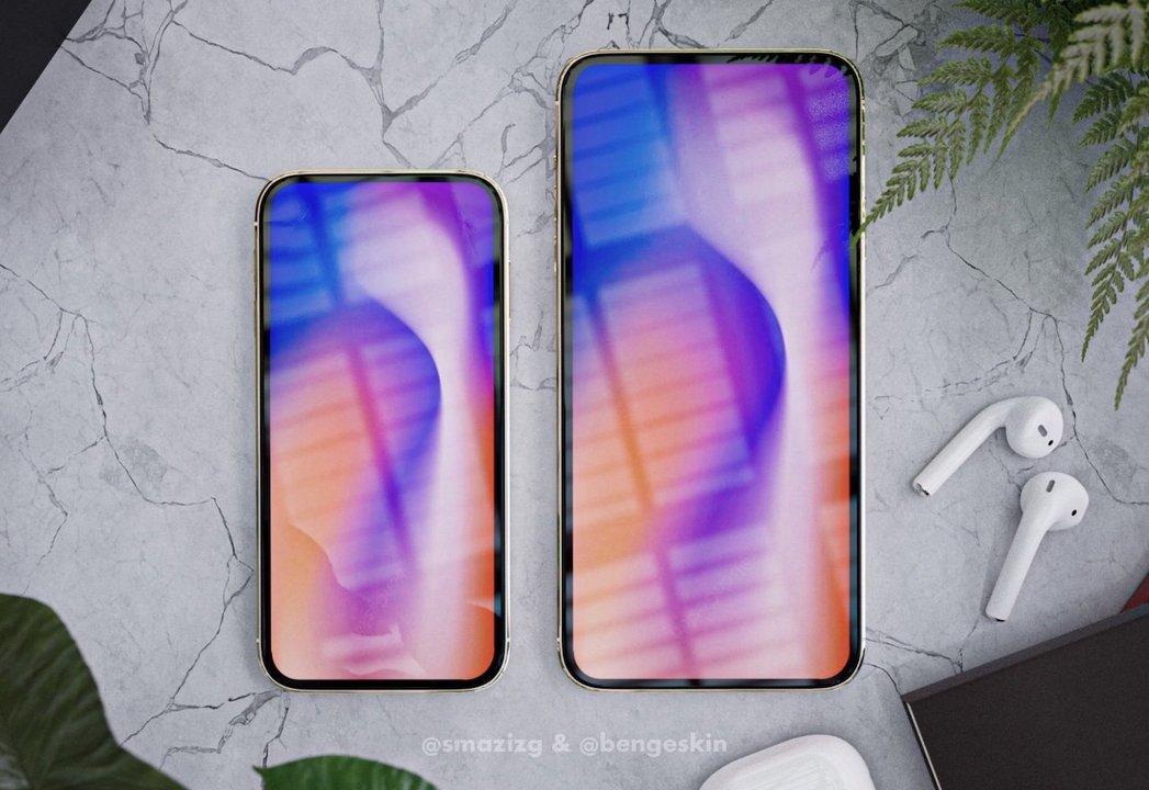 5.4インチちっさ! 次期iPhoneの新デザインコンセプトはいかが?