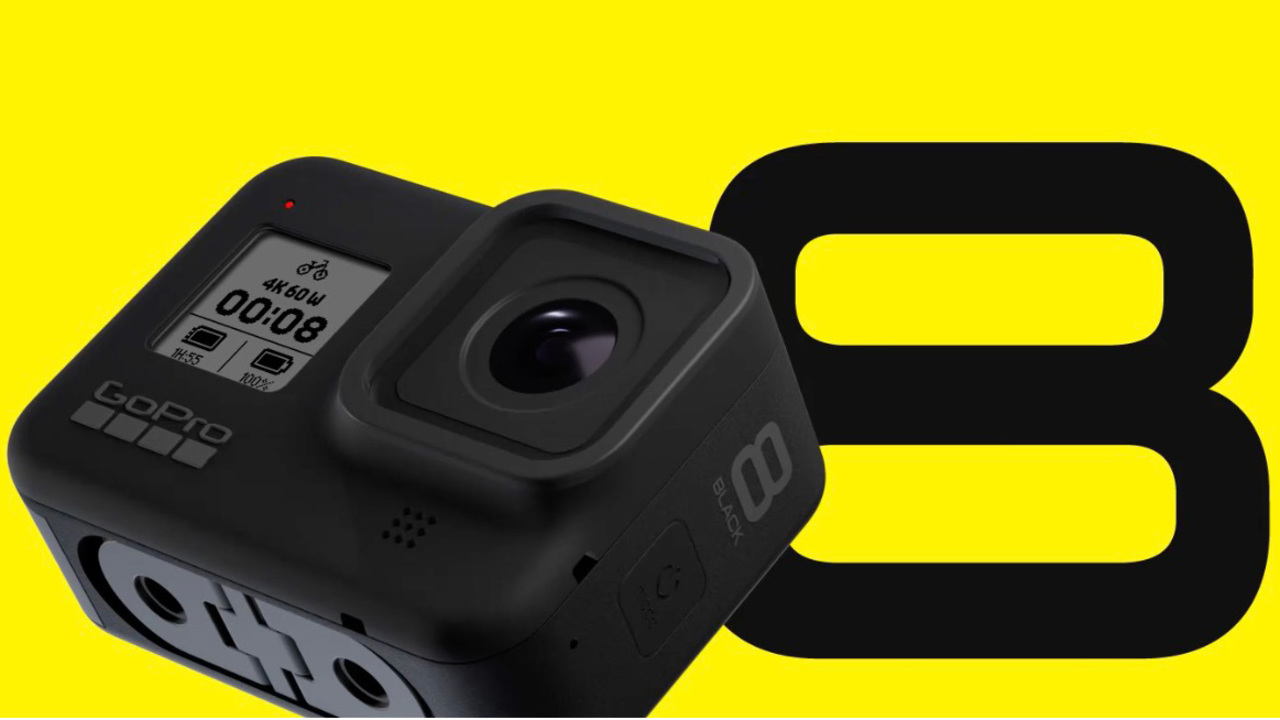 【速報】新型アクションカム「GoPro HERO8 Black」発表。動画も写真もな欲張り路線、大好き!