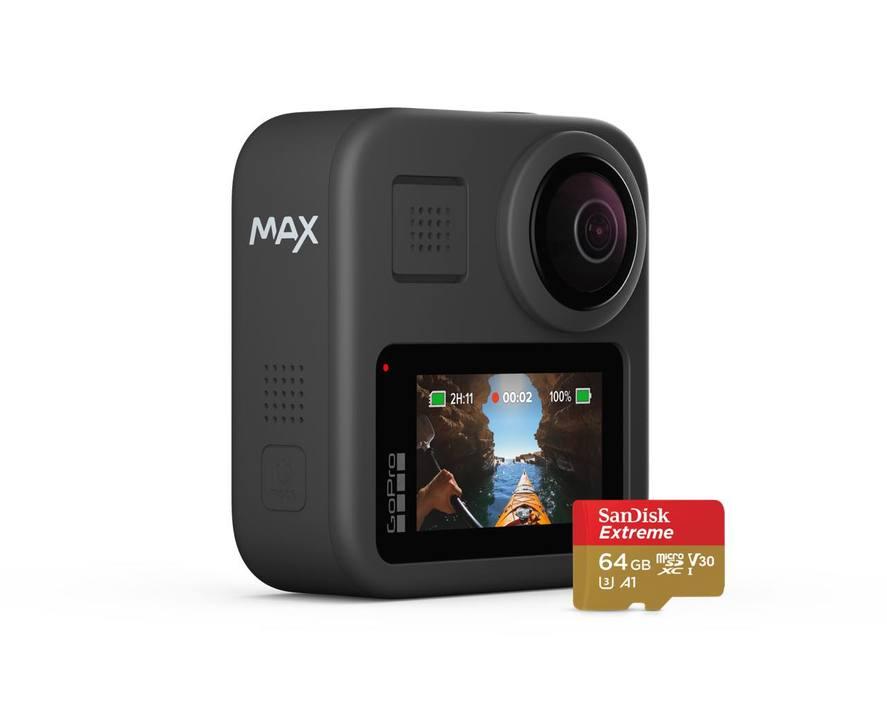 興奮度マックス! 360度カメラ&マイクで異次元のスムーズ動画が撮れる「GoPro MAX」