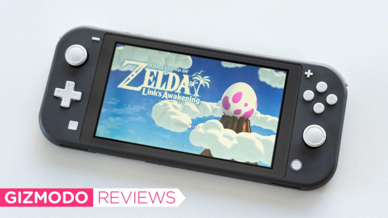 Nintendo Switch Liteレビュー:1人でソファに転がってやるには、最高!