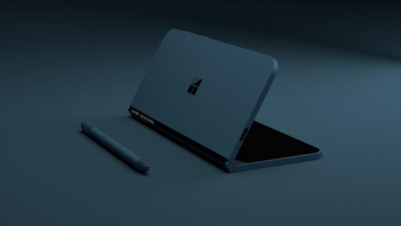 今晩。マイクロソフトが折りたたみサーフェスを発表するかも