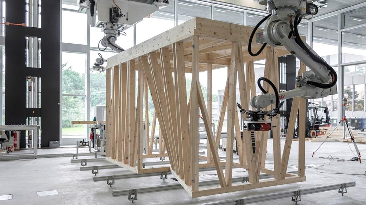 ヘンテコな形の建物でもアルゴリズムで組み上げちゃうロボット