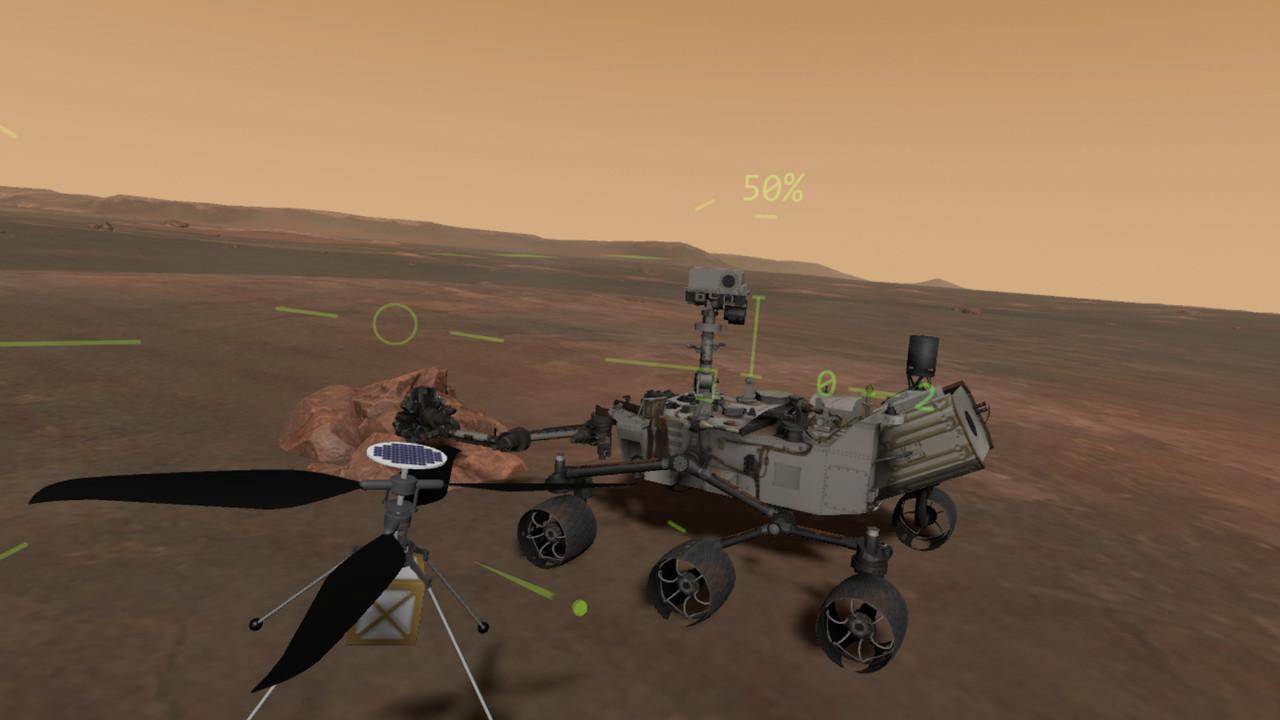 火星ヘリコプターで探査シミュレーション! 「Mars Flight VR」で赤い惑星を飛んでみよう