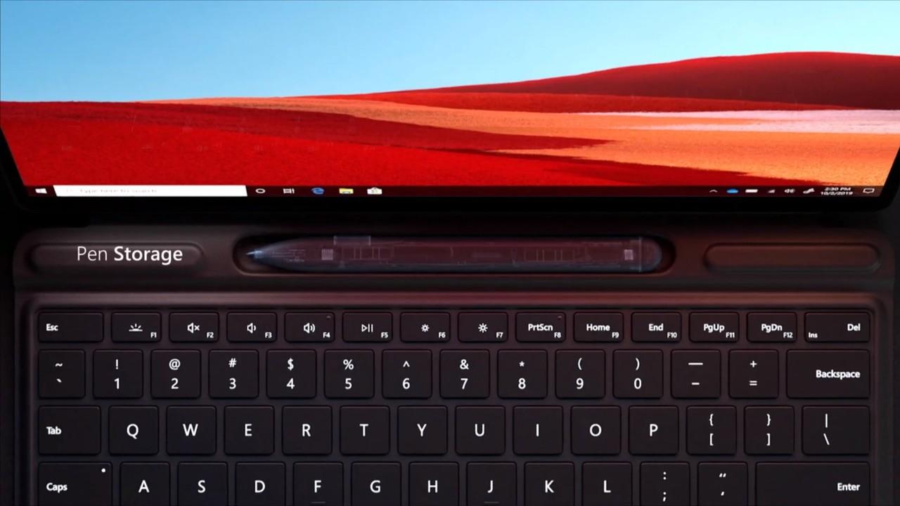 Surface Pro X pen