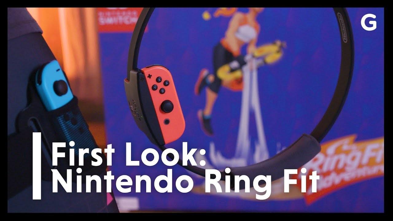 Nintendo Switch『リングフィット アドベンチャー』ハンズオン:息切れするほどの運動量