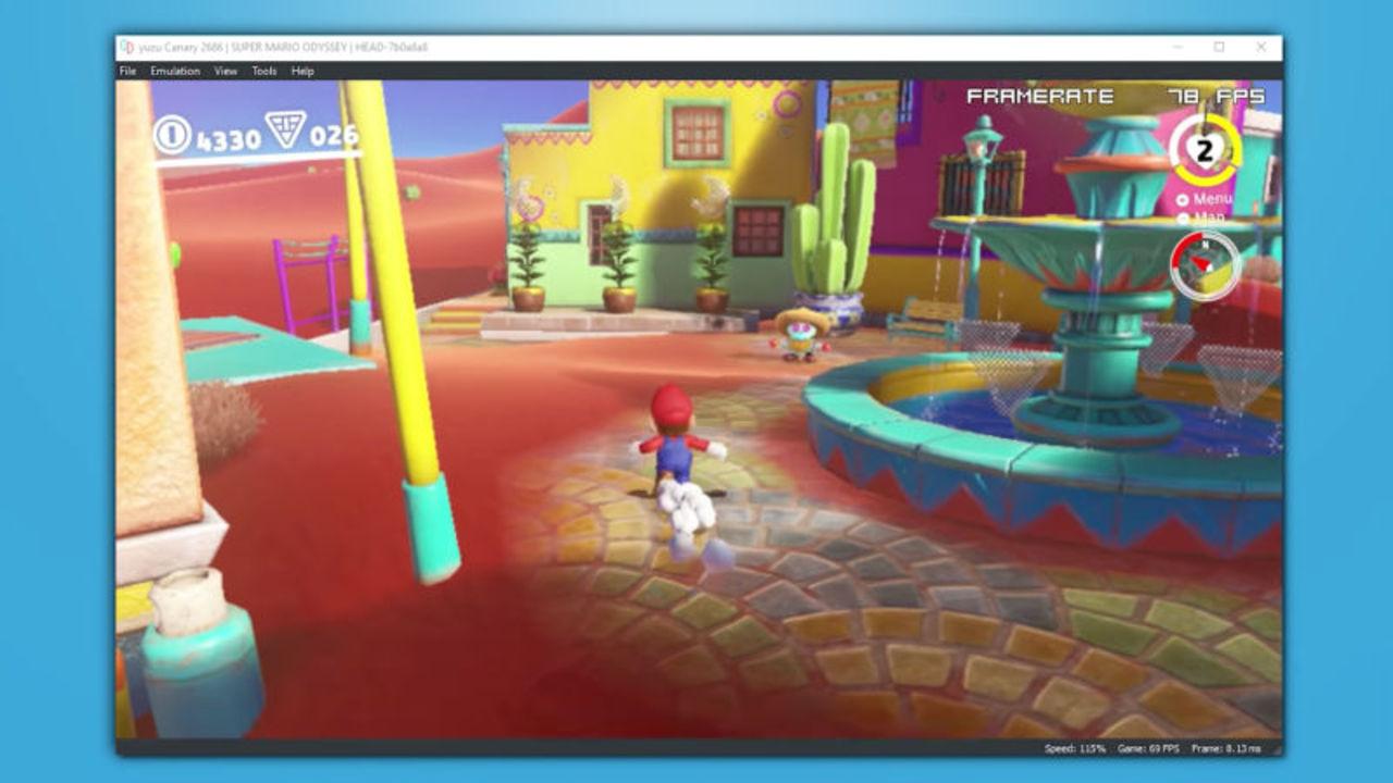 PC用Nintendo Switchエミュ、実機レベルで動作する模様