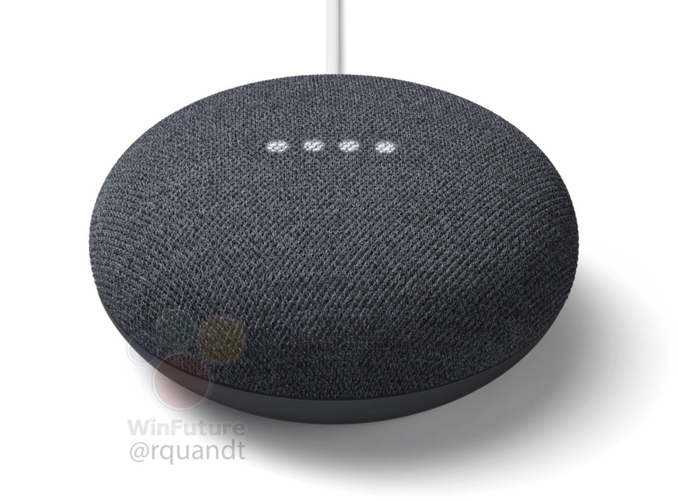Google Home Miniの後継機「Google Nest Mini」がリーク。壁かけ!