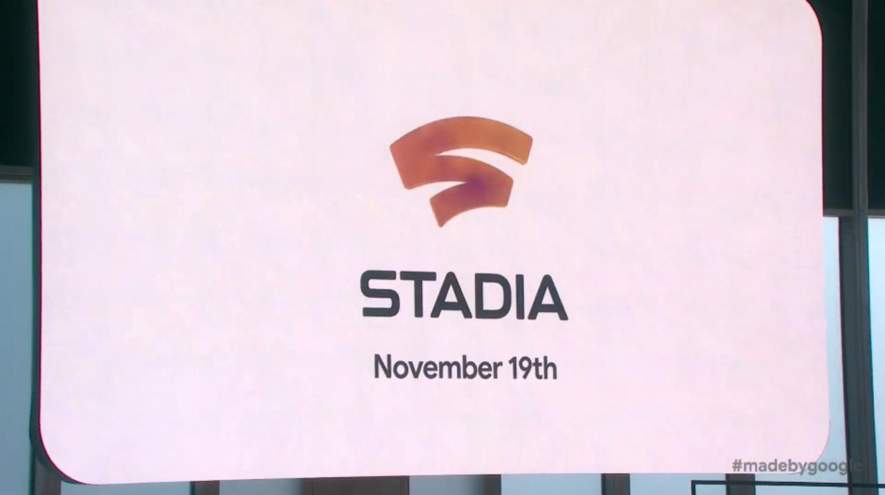 歴史を変えるかもしれないクラウドゲーム「Stadia」は、11月19日配信! #madebygoogle