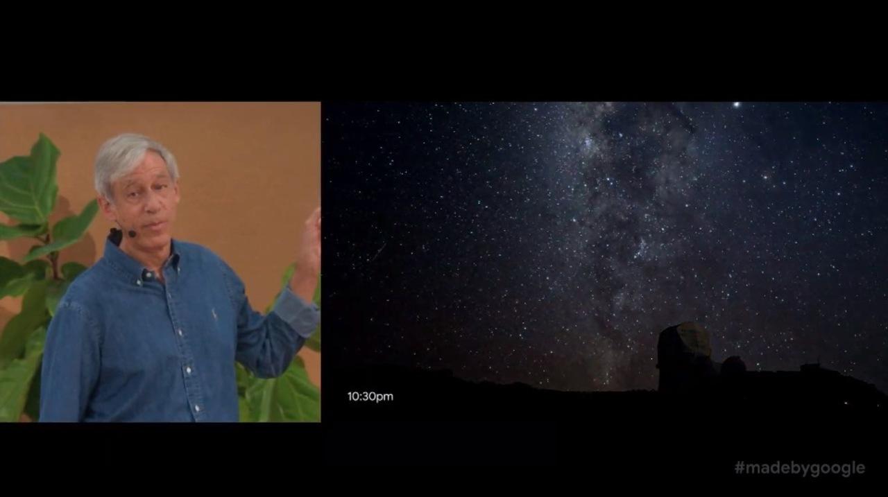 「Google Pixel 4」、これは星を撮りに行きたくなるスマホ #madebygoogle