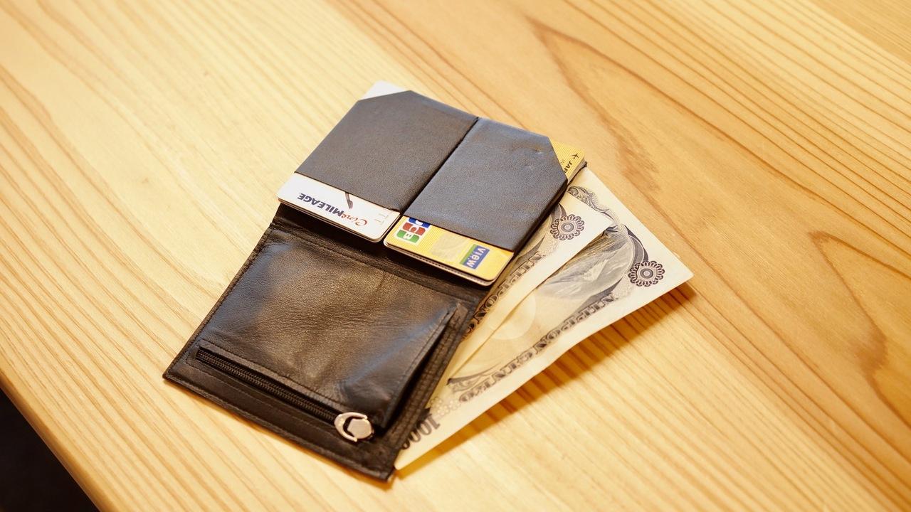 厚さ6mmでこの収納力!話題の財布「Tenuis3」を1週間使ってわかった7つのこと