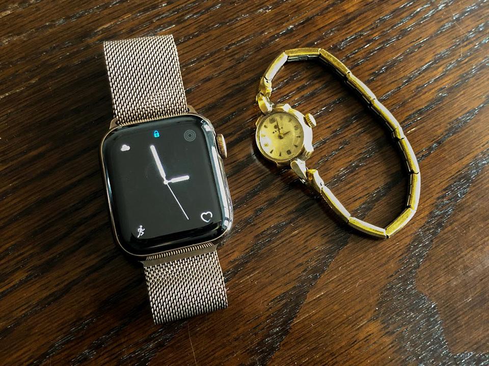 Apple Watchって女性に便利。でも見た目的には、どうなんだろう