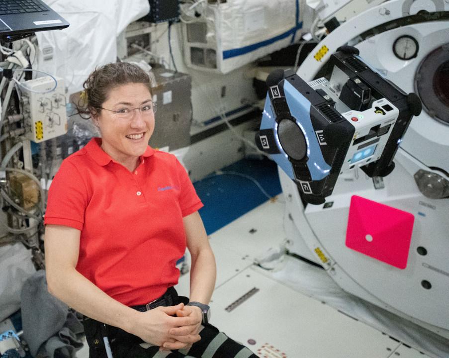 ISSの日本実験棟「きぼう」に住むNASAの自律飛行ロボット「Astrobee」