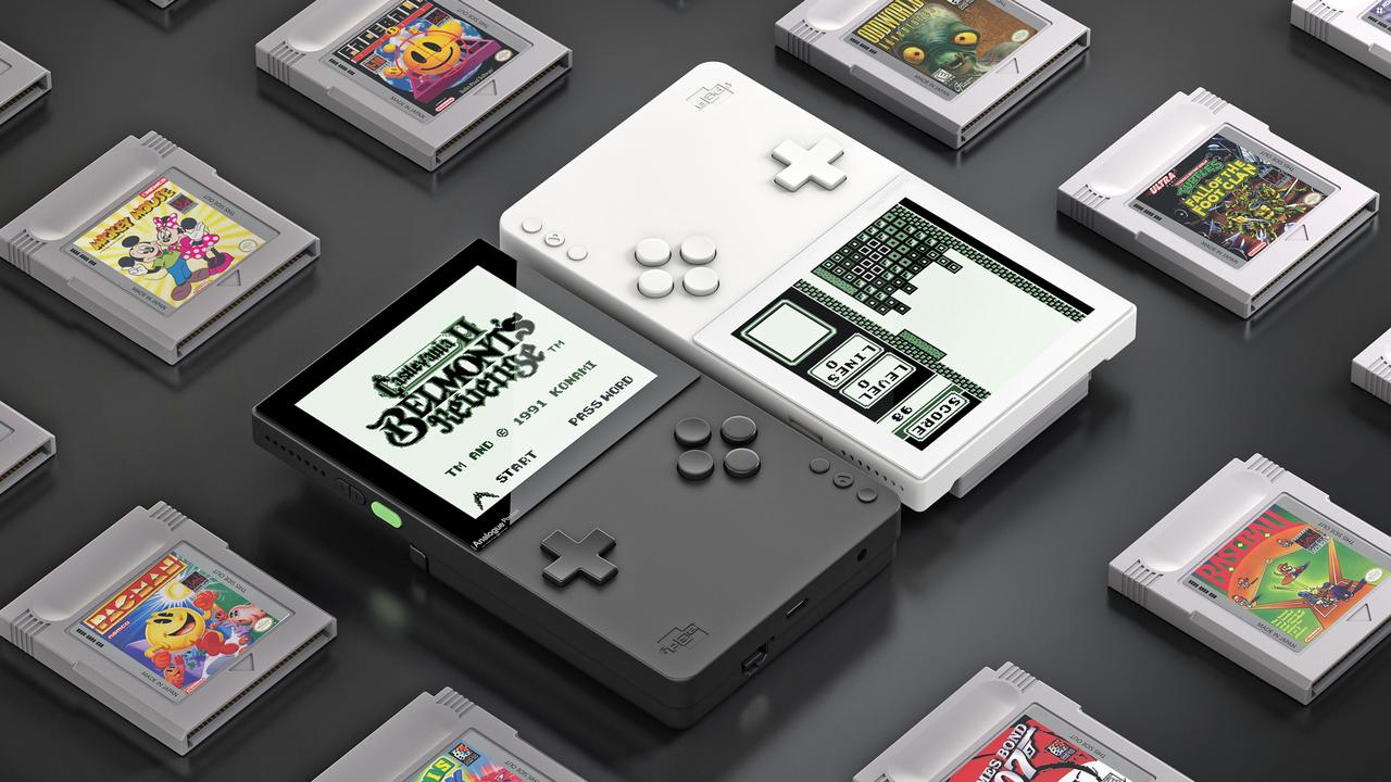 ゲームボーイの究極クローン携帯ゲーム機「アナログ・ポケット」