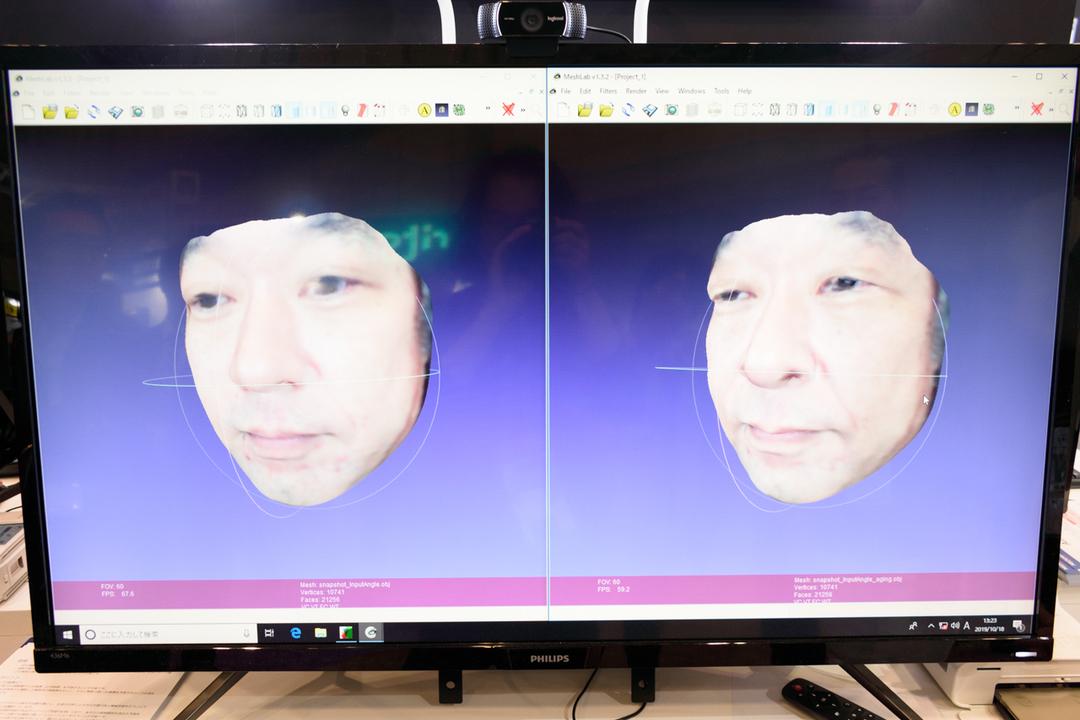 科警研で使われている加齢シミュレーションを試してみた #CEATEC2019