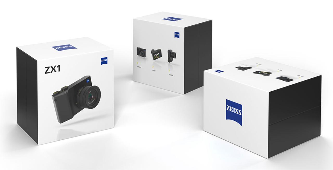 Lightroom内蔵フルサイズコンデジ「ZEISS ZX1」のフルスペックが公開