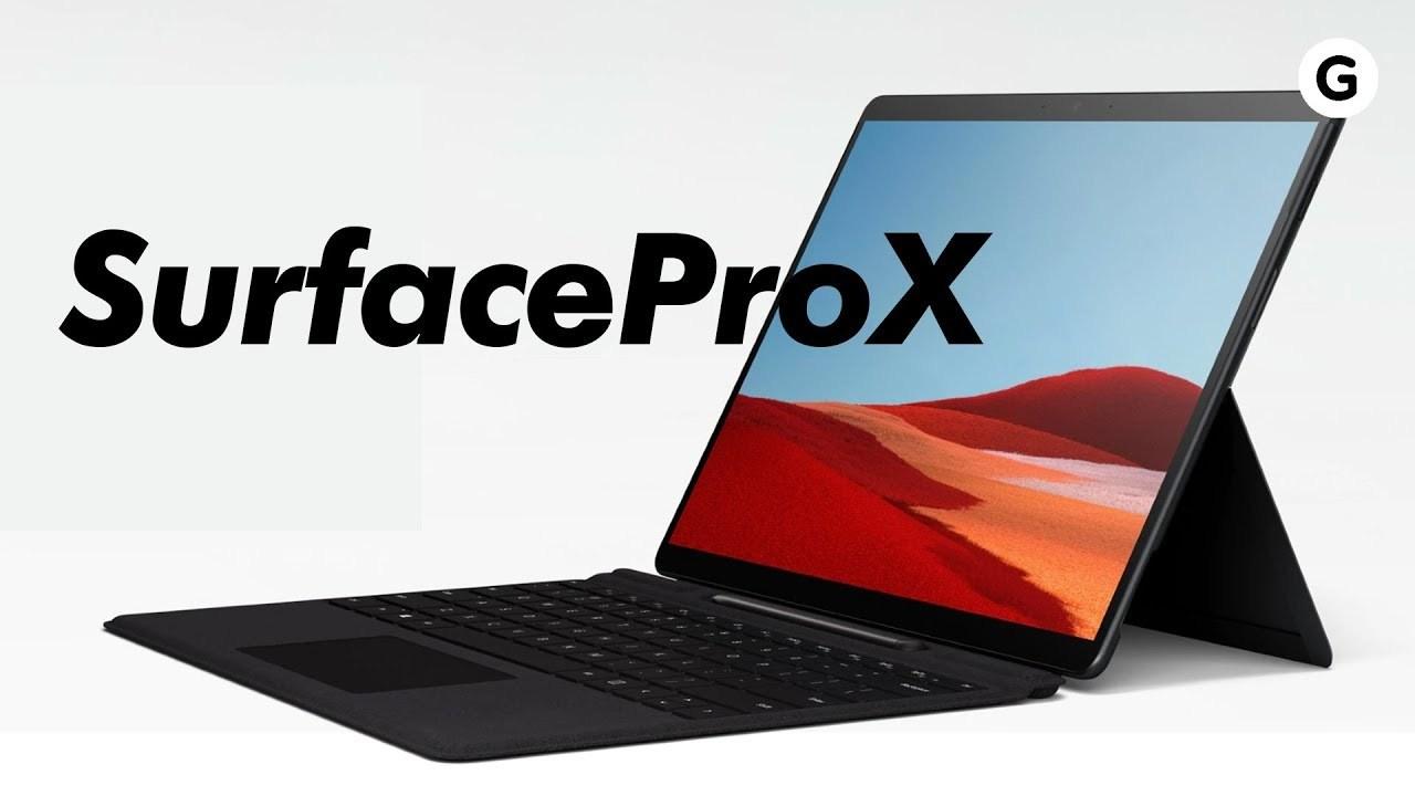 Surface Pro X 動画インプレッション:ある意味で役員向けSurface