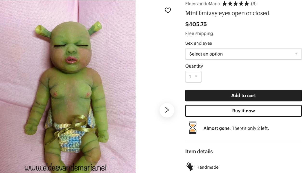 N.Y.で赤ちゃんの遺体を発見…と思いきや超リアルなゾンビ人形でした。ネットにはファンタジー人形の市場がある
