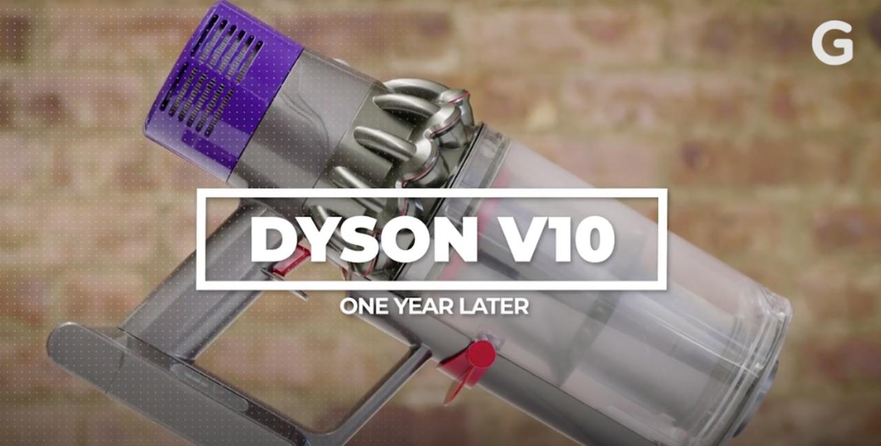 ダイソンのコードレス掃除機、一年使って見えてきた欠点
