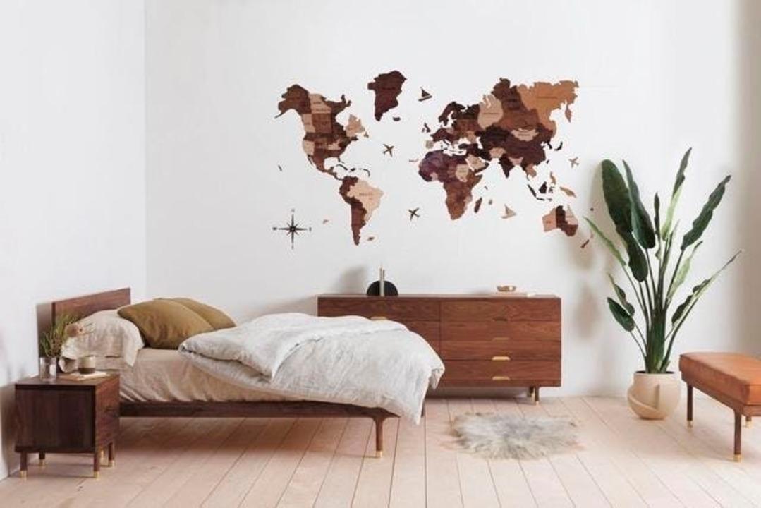 あと1日!お部屋にいながら世界を旅する木製ウォールアート「3D世界地図」がもうすぐ終了