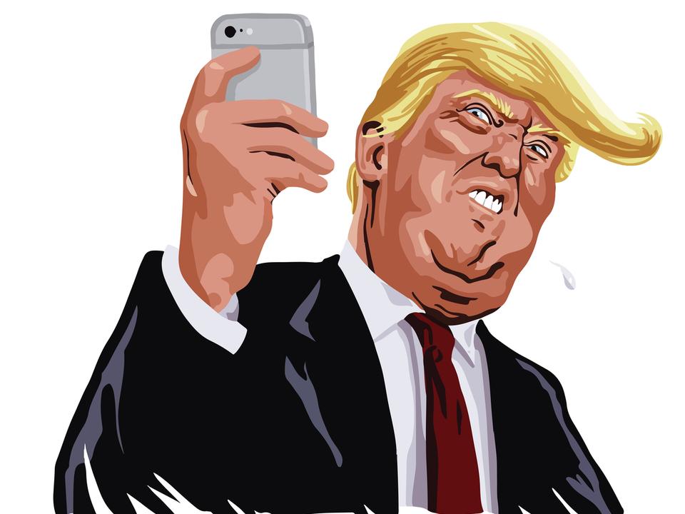 トランプ大統領「iPhoneはホームボタンの方がスワイプよりずっとマシ!」