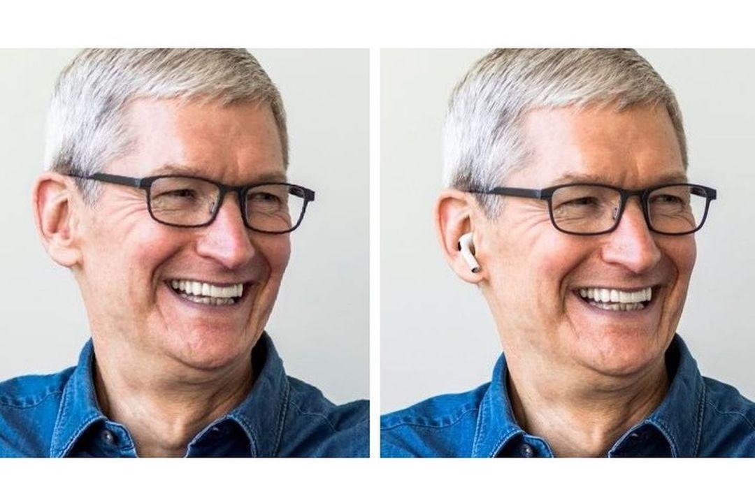 ティム・クック Apple CEOのTwitterアイコンがAirPods Proを装着→フォトショ芸じゃね?