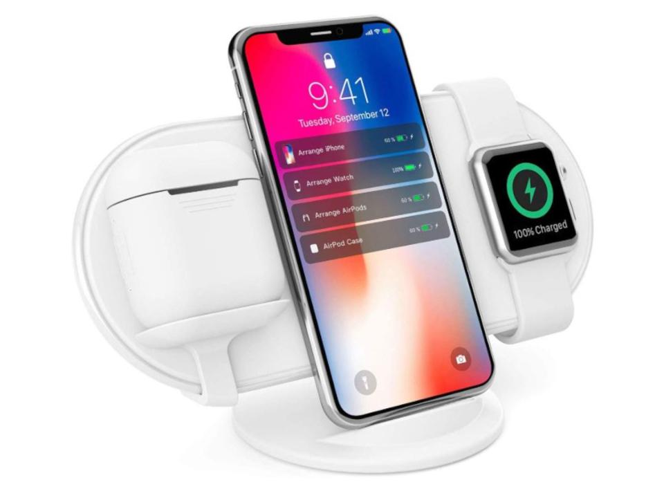 【きょうのセール情報】Amazonタイムセールで80%以上オフも! iPhone・Apple Watch・AirPods用ワイヤレス充電スタンドや800円台のバックパック用レインカバーがお買い得に