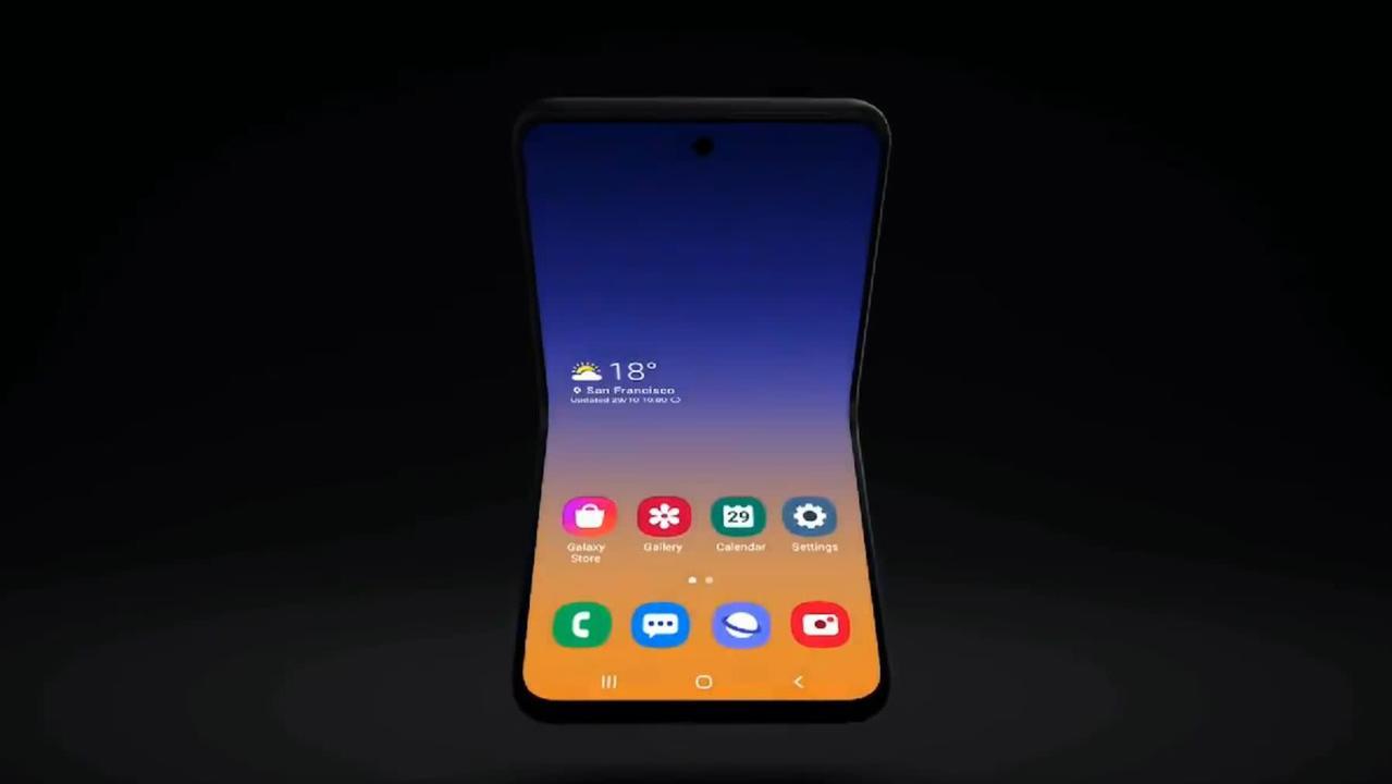 え、そっちに開くの? Samsungが次世代折りたたみスマホのティザー公開